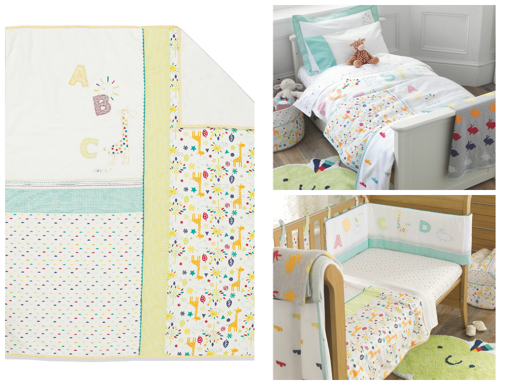 Mothercare I Love Sunshine Coverlet. A cosy alternative to ...