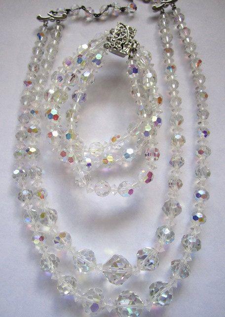 Aurora Borealis Vintage Jewelry 15