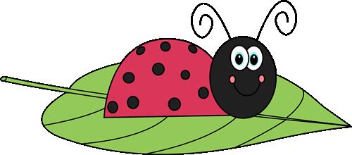 Free Downloadable Ladybug Clipart Ladybug On A Leaf Clip Art Image Cute Red Ladybug On A Green Leaf Ladybug Free Clip Art Clip Art