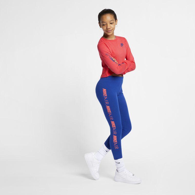 48b1ed1d Air Older Kids' (Girls') Long-Sleeve Crop Top in 2019 | Products