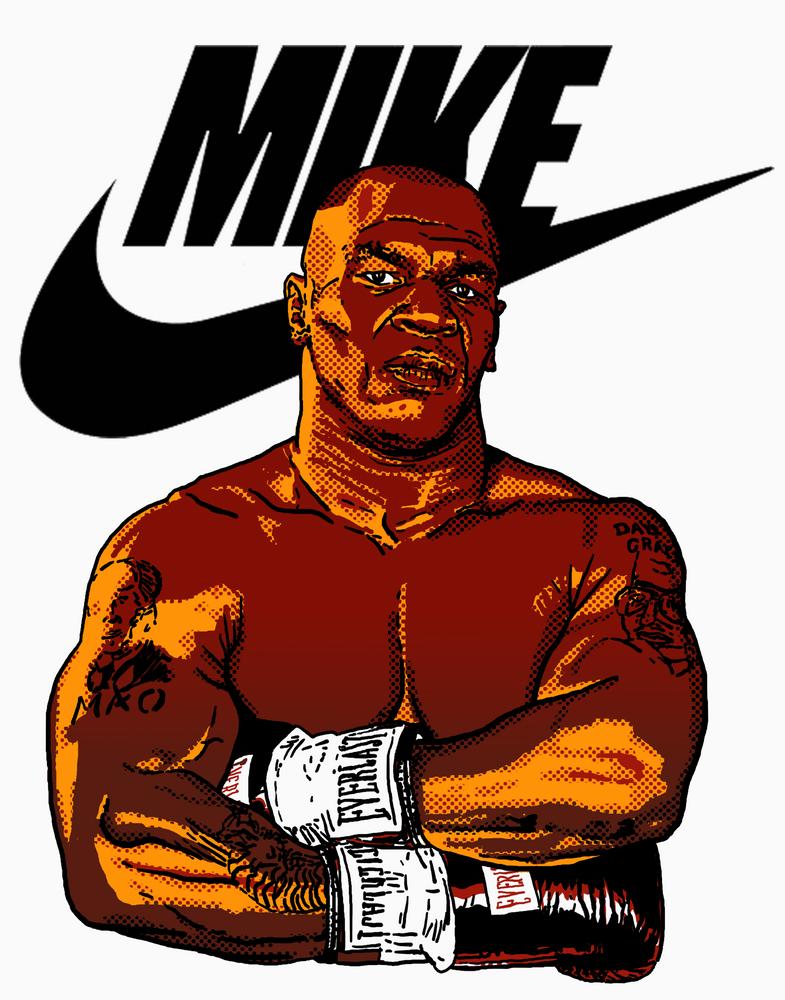 Mike Tyson By La Brea Art Print By La Brea X Small Mike Tyson Mike Tyson Boxing Boxing Posters
