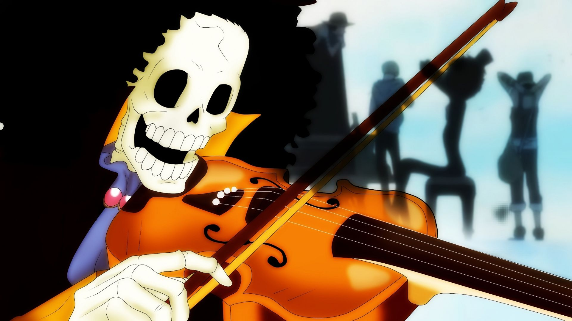 One Piece Brook Soul King Wallpaper | Ideias para a casa ...