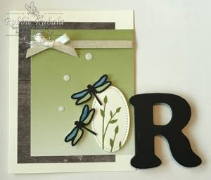 http://inkedx2.blogspot.com/2017/05/colorful-dragonflies.html   | Stampin' Up | masculine cards | cards for men | Stampin' Up cards | card making ideas | papercrafts | Here is a great guy card using 2 different dsp's.