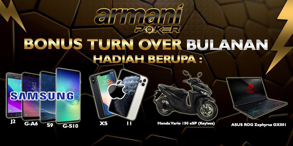 Armanipoker Situs Idn Update 2020 Armani Poker 100 Player Vs Player Poker Hadiah Hoki