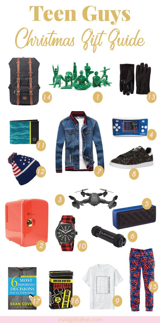 Teen Holiday Gift Guide for Guys | Pinterest