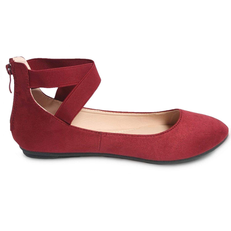 Saddle Shoes Anna Dana6 620 Womens Classic Balleri