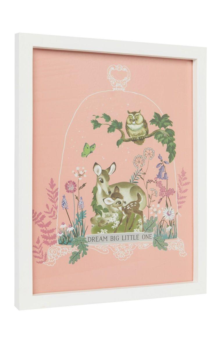 "Primark - ""Bambi"" Bilderrahmen mit Bild | Baby | Pinterest"