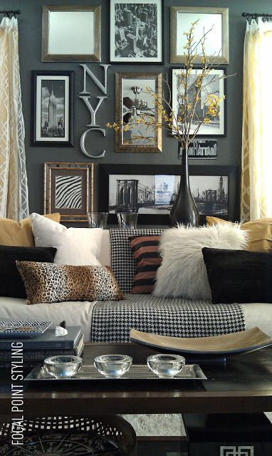 Style Savings Tip: Shop the bedding section in stores like HomeGoods to find great deals on EURO sham covers - A great way to update larger sofa pillows for a seasonal change! Lynda Quintero-Davids #HomeGoodsHappy #sponsored