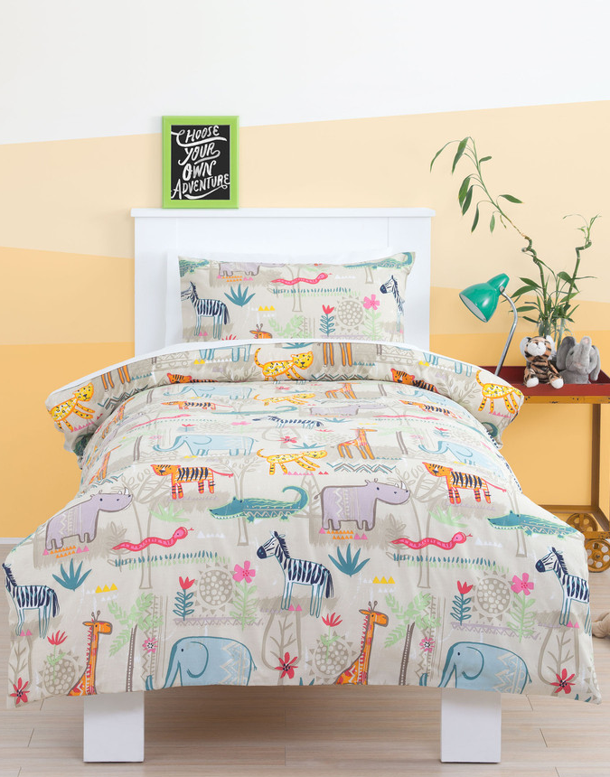 Jungle Duvet Cover Set Little Rooms Duvet cover sets