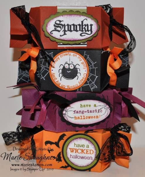 Halloween Candy Wrappers by Card Shark - Cards and Paper Crafts at Splitcoaststampers
