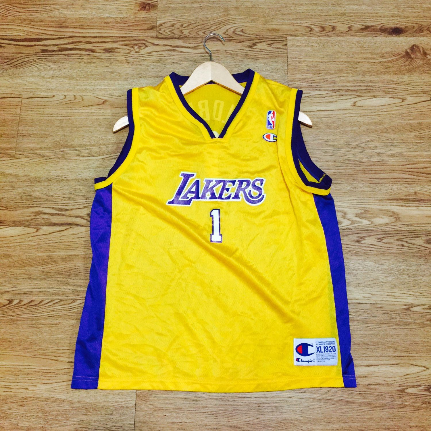 Vintage Los Angeles Lakers Champion Jersey by VNTGvault on Etsy ... 850df618b