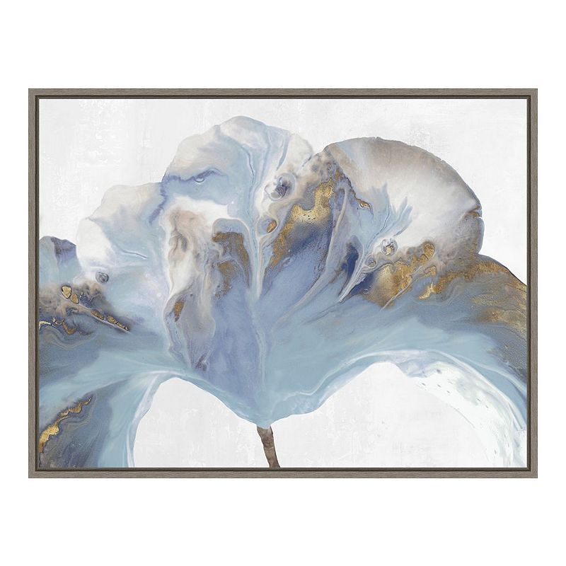 Amanti Art Space Inside I Framed Canvas Print White Canvas Art Framed Canvas Art Flower Canvas