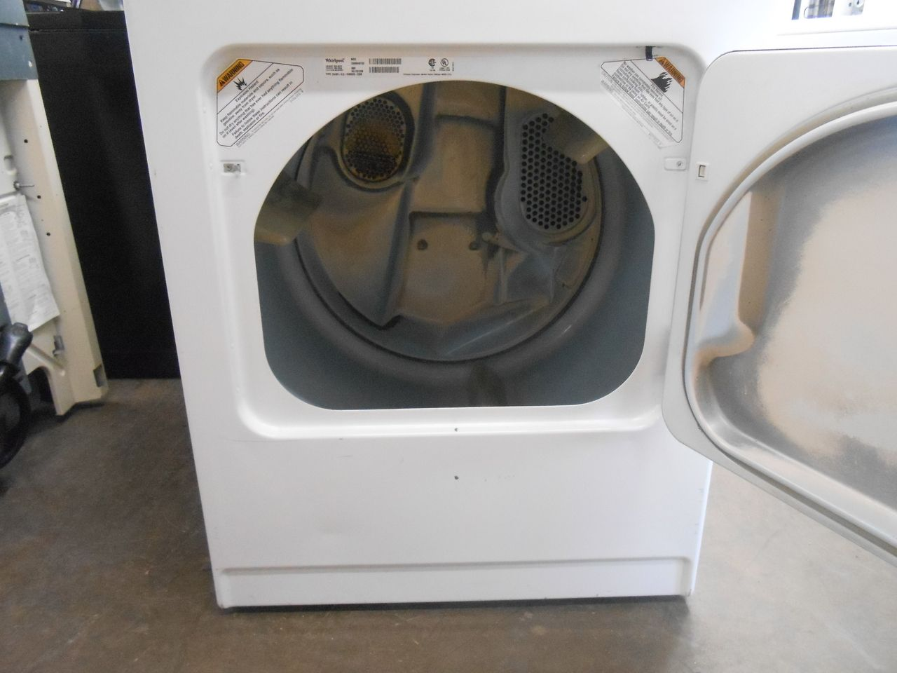 Appliance City Whirlpool Heavy Duty Commercial Electric Dryer 3