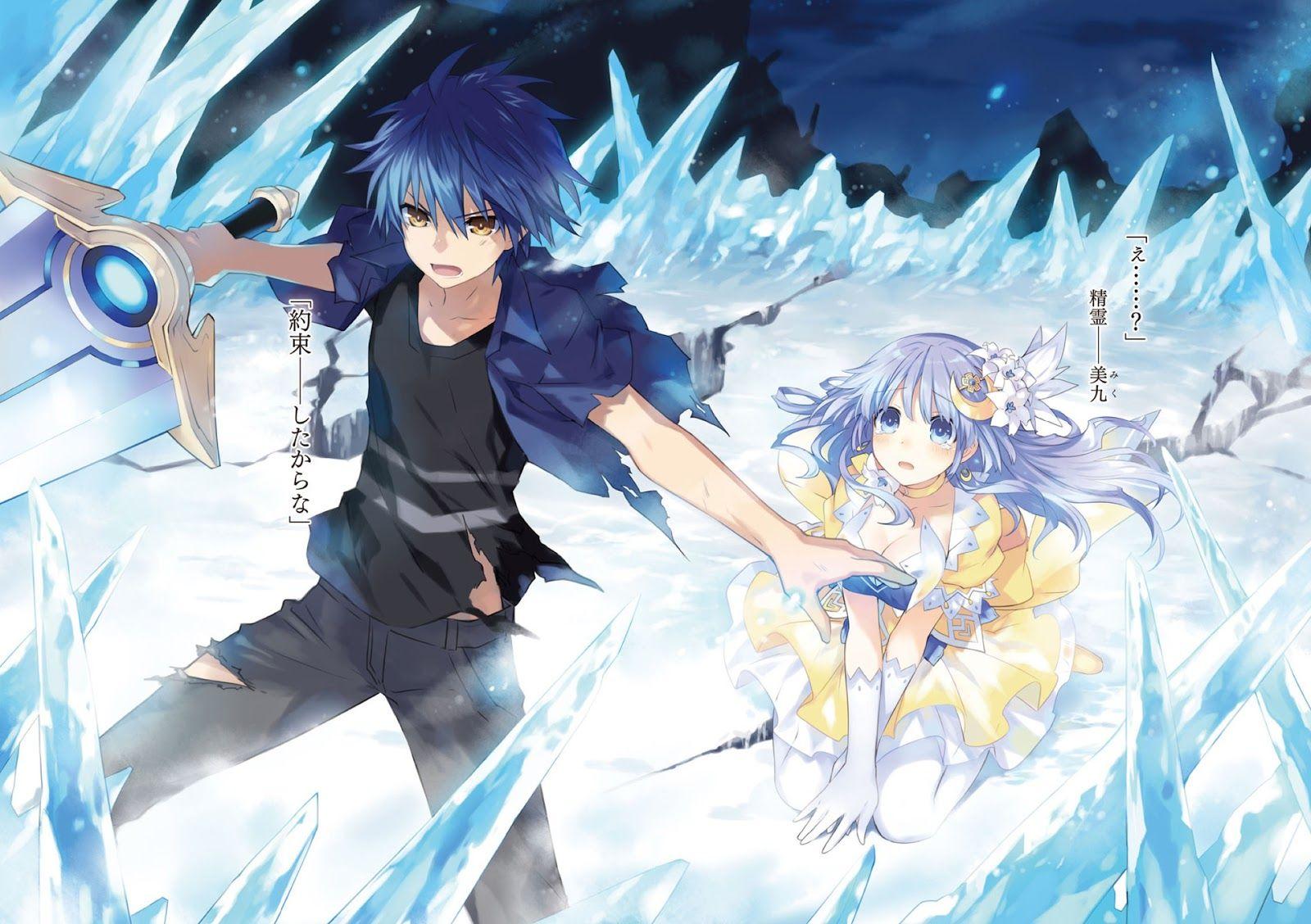 Shido Miku Date A Live 0871 Hd Wallpaper Anime Imagem De Anime Casais De Anime
