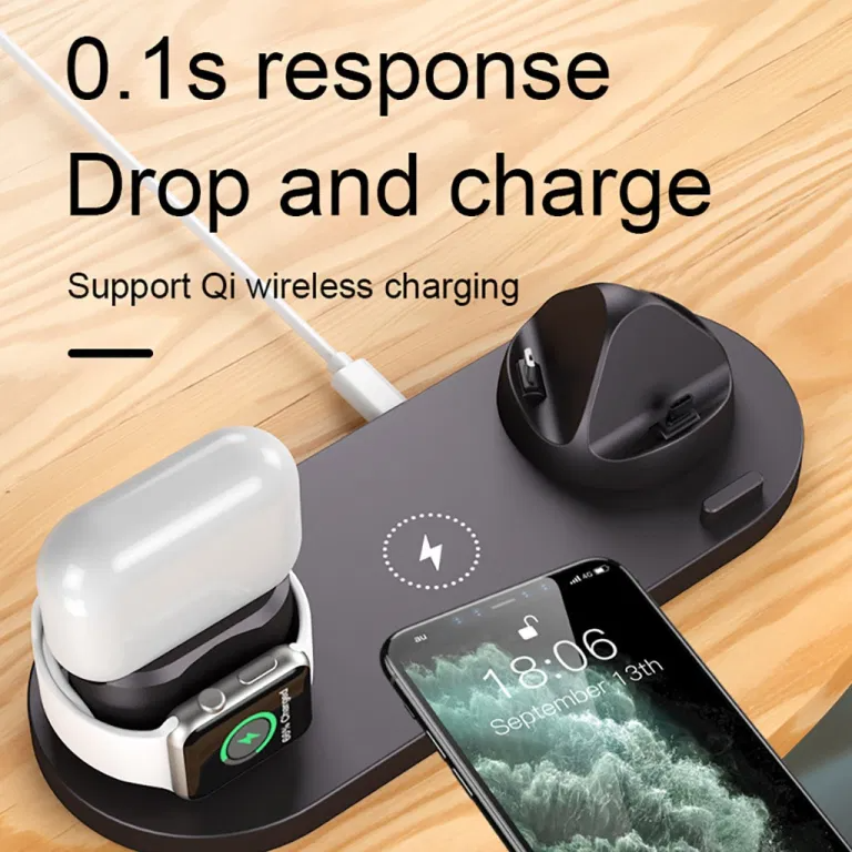 Wireless Charger Station For Apple Watch Iphone Airpods Pro 6 Sale Phonesep Com Apple Watch Iphone Wireless Charger Apple Watch
