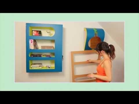 Meubles En Carton Chapitre N 30 Demo Cas Particulier Application Pour Une Etagere Etroite Youtube Meubles En Carton Etagere En Carton Carton