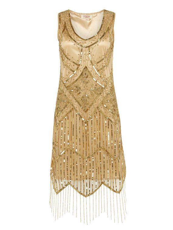 ea96ec8f38577 Flapper Dress, Etsy, Jazz Lawn Party | Vintage | Gatsby dress ...