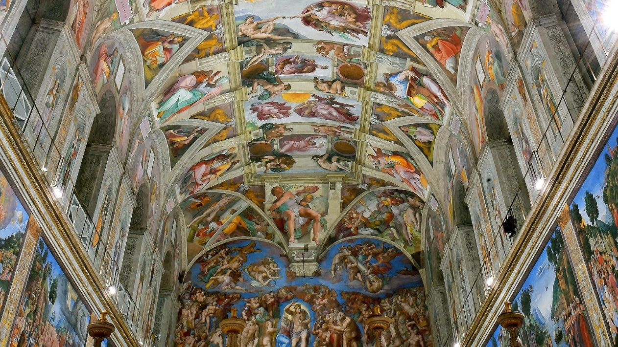La Chapelle Sixtine propose une sublime visite virtuelle en 2020 | Chapelle sixtine, Sixtine ...