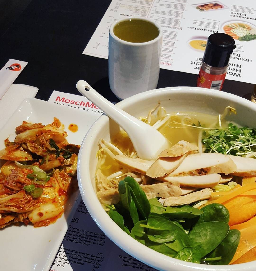 Fitness Mannheim Tea Kimchi And Soup Ramen Fitness Protein Restaurant Fitfam