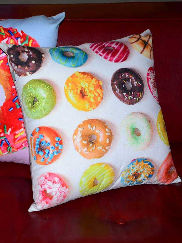 Donuts Galore Cushion by Bent Chair is a must have to add to your decor collection. A quirky yet comfortable cushion which can be easily placed and will surely suit at any given space.