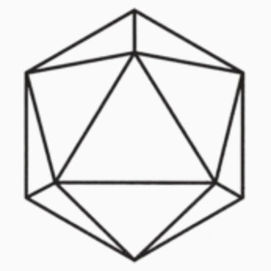 Odesza Logo The Icosahedron Is Symbol For Water And Represents Going With Flow