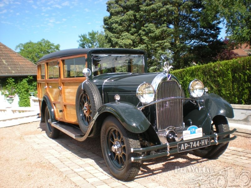 Talbot (Suresnes) M75C Woodie 1930 for sale | Wish list & other ...
