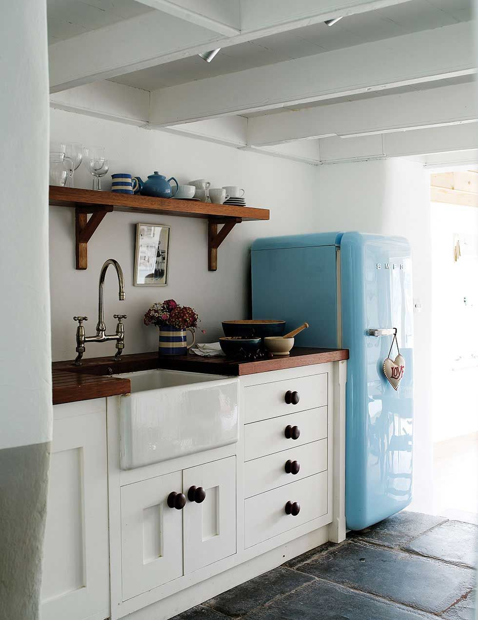 Periodliving:,Interior Of Coastal Cottage In Port Isaac