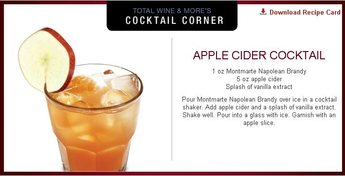 Apple Cider Brandy Cocktail Recipe Recipe Apple cider