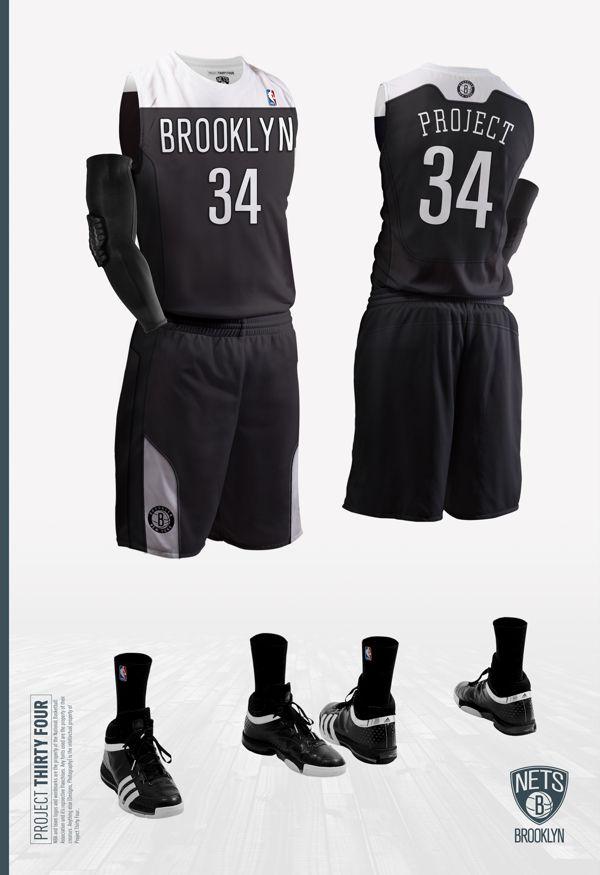 Brooklyn Nets Jersey Concept. Brooklyn Nets Jersey Concept Basketball  Uniforms ... 33ee421ed