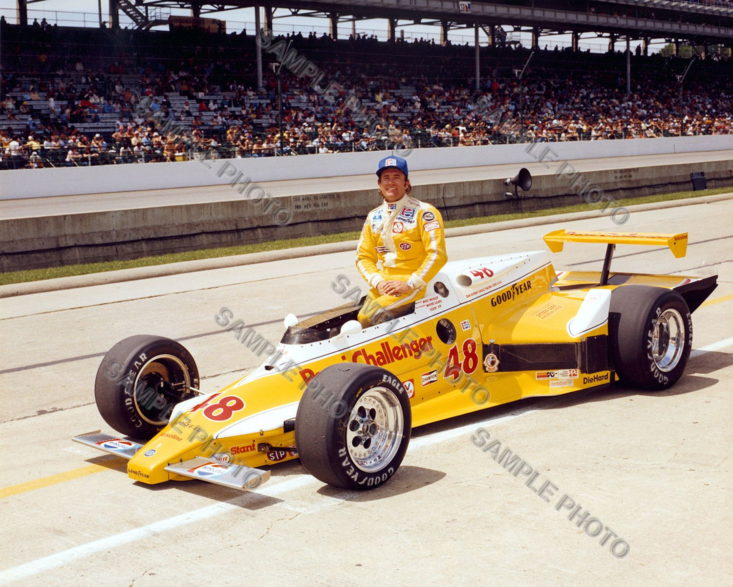 3 95 mike mosley 1981 indy 500 auto racing 8x10 photo ebay collectibles