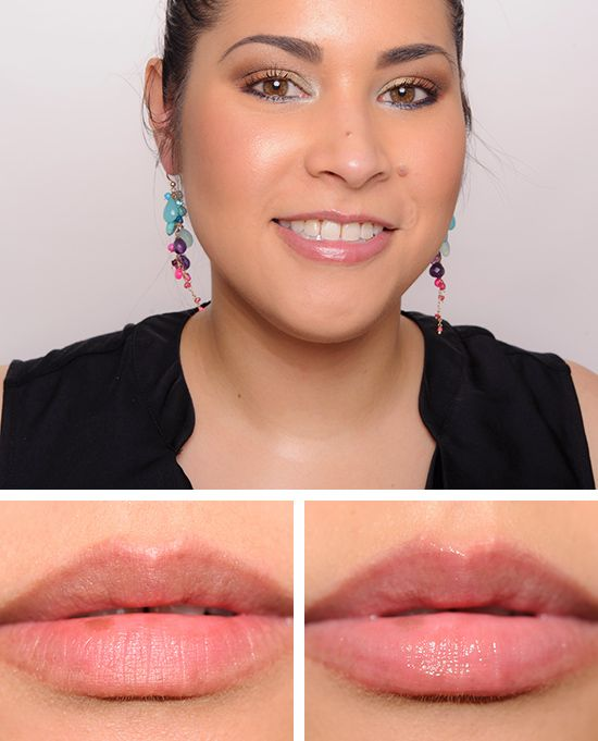 Maybelline Pink A Boo Baby Lips Lipgloss Review Swatches