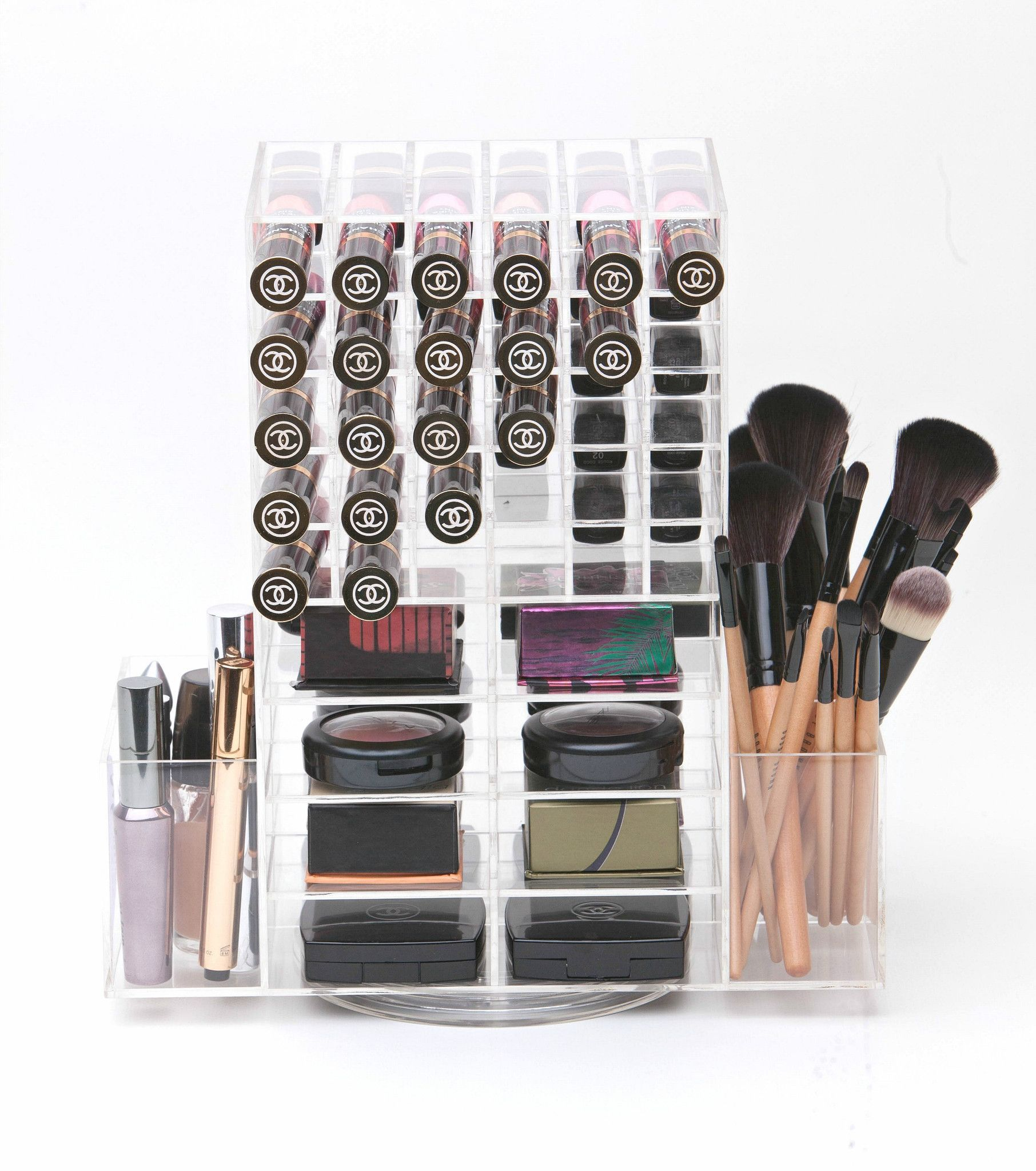 The Beauty Cube Luxe Spinning Lipstick & Blush Tower
