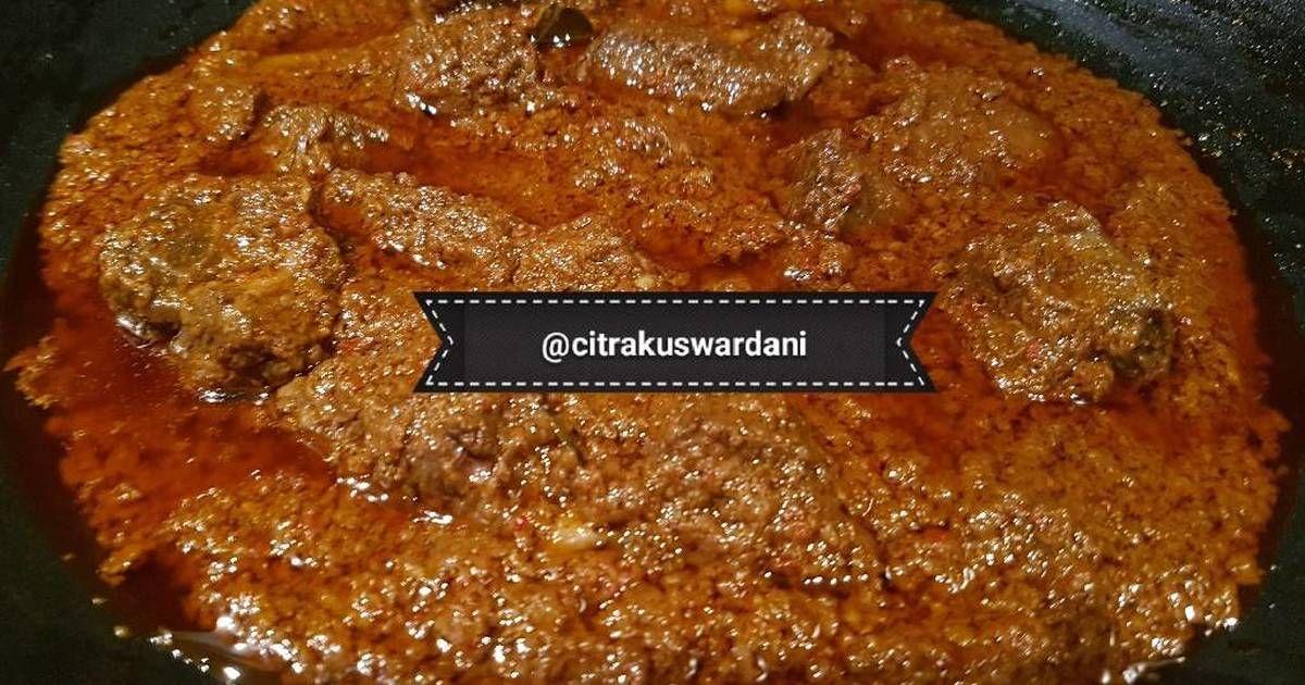 Resep Rendang Padang Rice Cooker Oleh Citra Kuswardani Resep Resep Resep Masakan Memasak