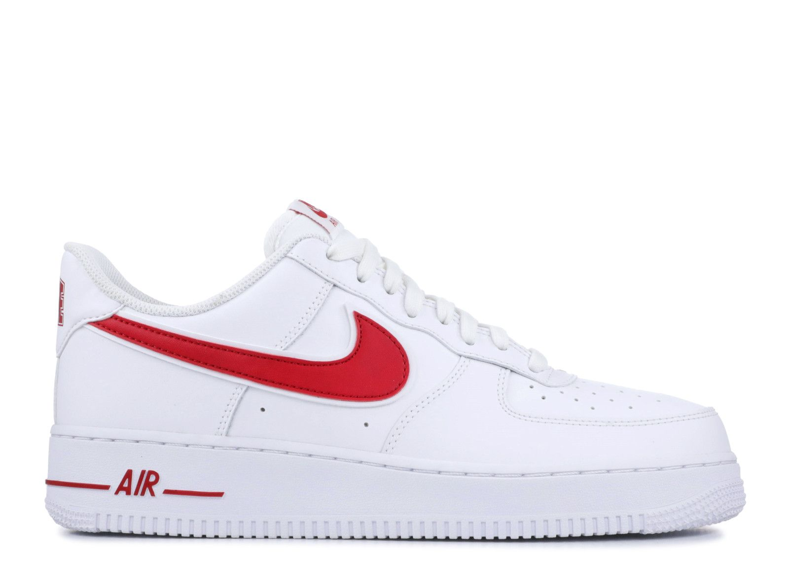 air force 1 '07 3 | Red nike shoes, Nike air force