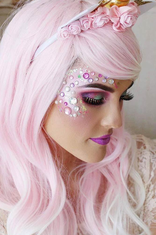 42 Fairy Unicorn Makeup Ideas For Parties | Unicorn makeup, Make ...