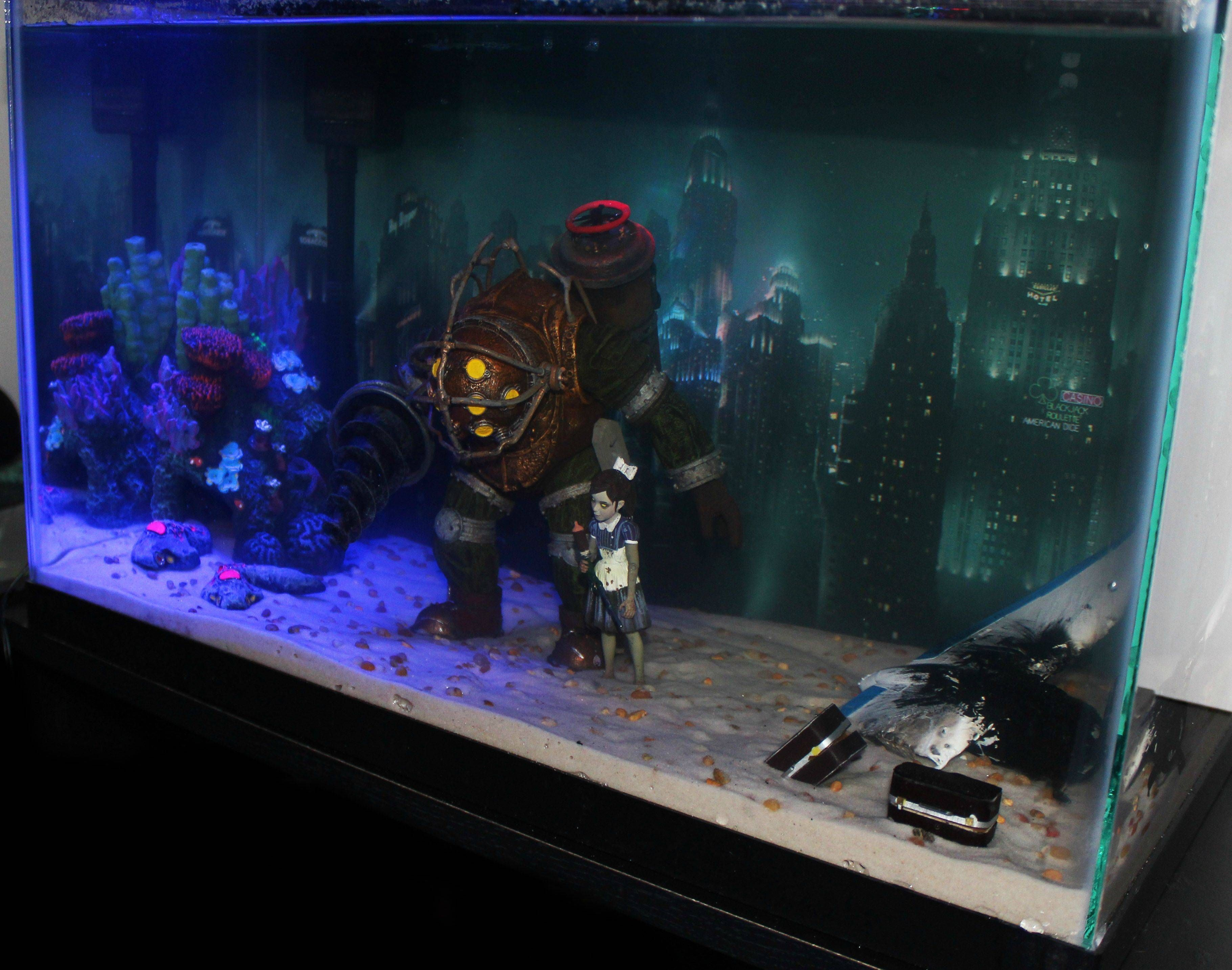 bioshock fish tank best reason i ve ever seen to have a fish tank rh pinterest com