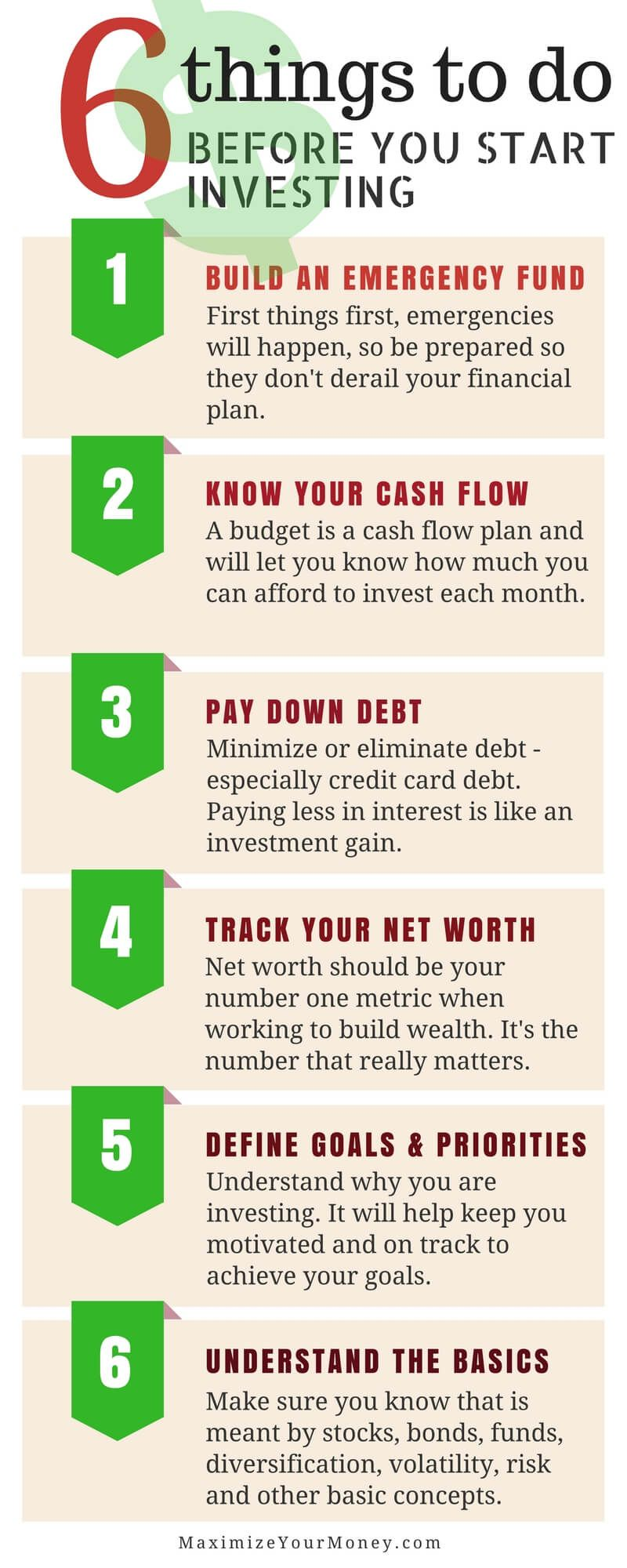 Steps To Take Before You Start Investing Finance Investing Start Investing Investing
