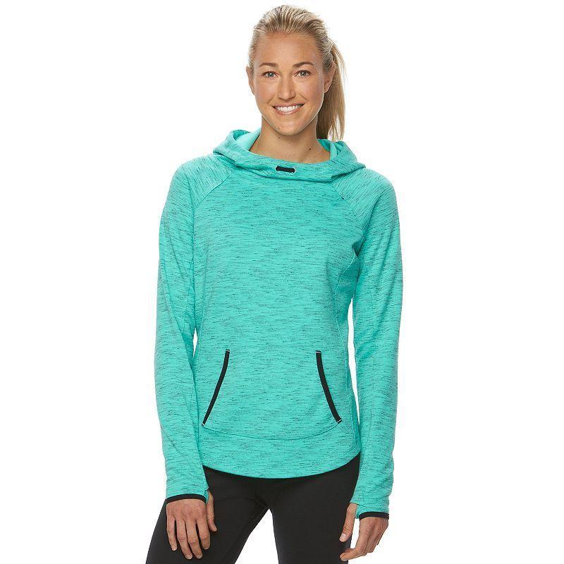 Women's Tek Gear® Fleece Cowlneck Hoodie Hoodies, Fleece
