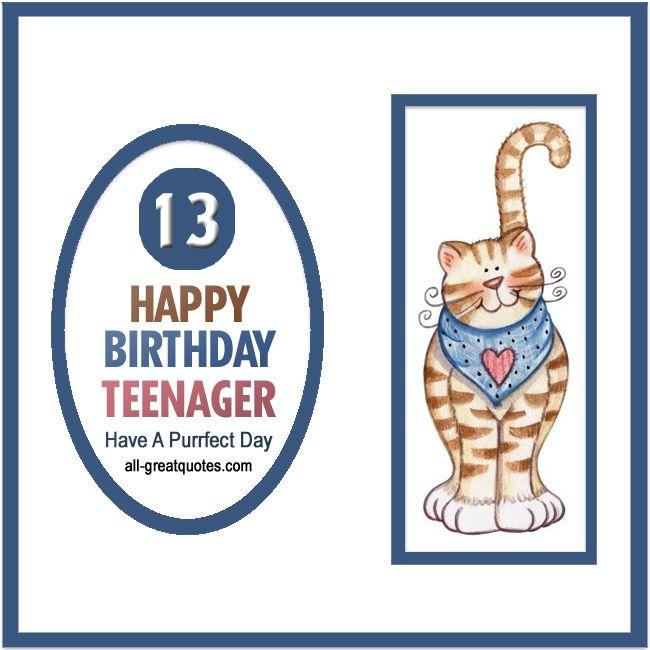 Happy Birthday Teenager