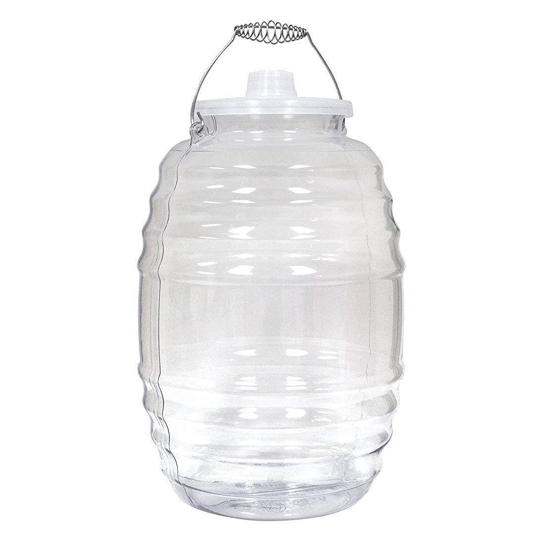 Made In Mexico Aguas Frescas 5 Gallon Vitrolero Plastic Water Container Walmart Com In 2020 Plastic Water Containers Agua Fresca Water Containers