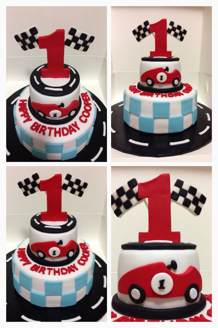 Race Car Theme Cake More