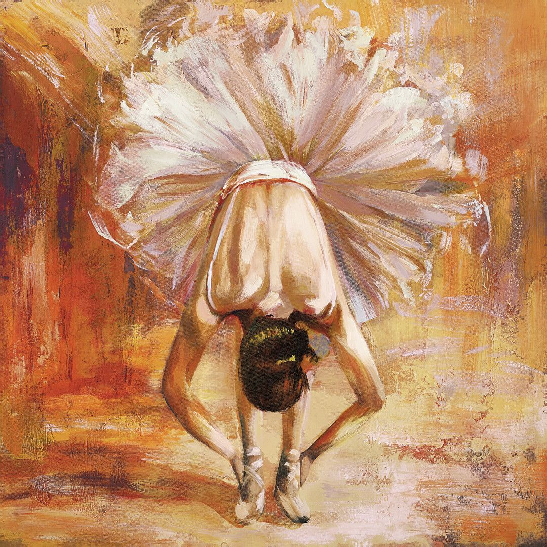 Prima by Frank Parson Painting Print on Wrapped Canvas