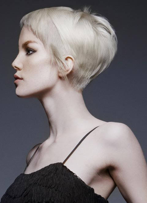 pixie with longer pieces.  High fashion, low maintenance!