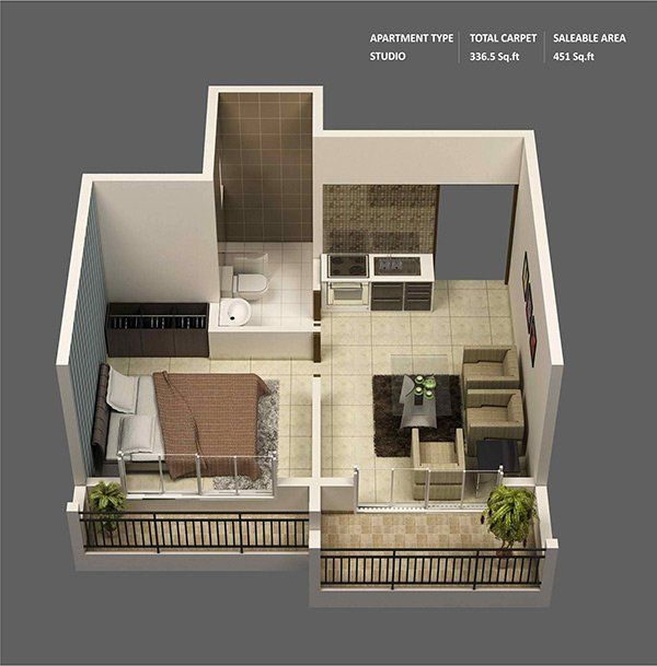 Https homedesignlover interior design one bedroom also apartment plans for singles and couples rh in pinterest