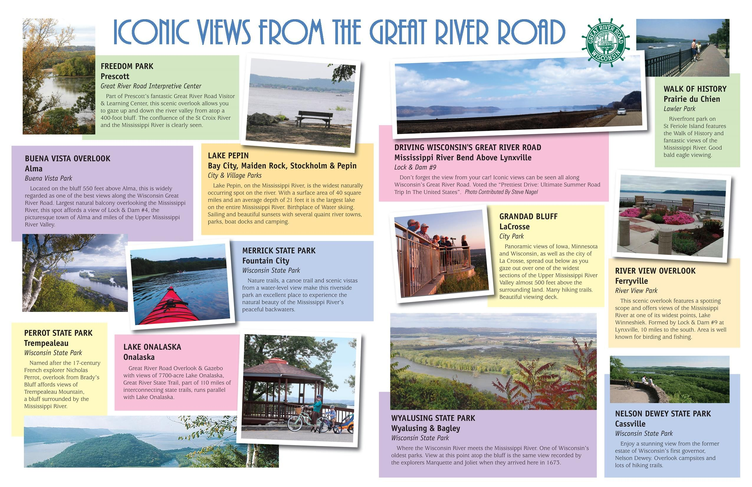 Visitor Info For The Wisconsin Great River Road