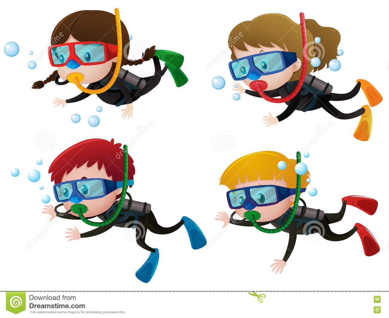16+ Scuba diver clipart free information