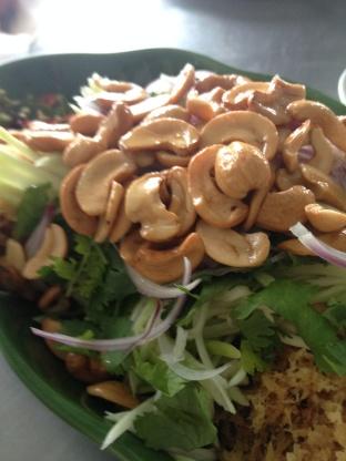 Thai Catfish Salad (Yam Pla Dook Foo)