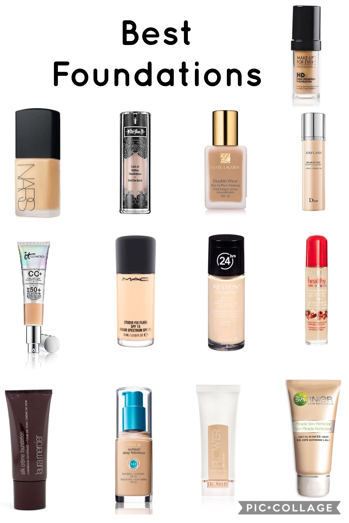 Foundations Galore Highend Drugstore Fullcoverage Best Makeup Products Best Foundation For Oily Skin Foundation For Oily Skin