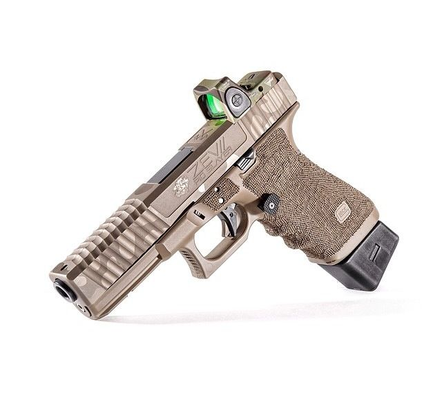 Zev Technologies GLOCK 20 Pigslayer  Trijicon RMR sight