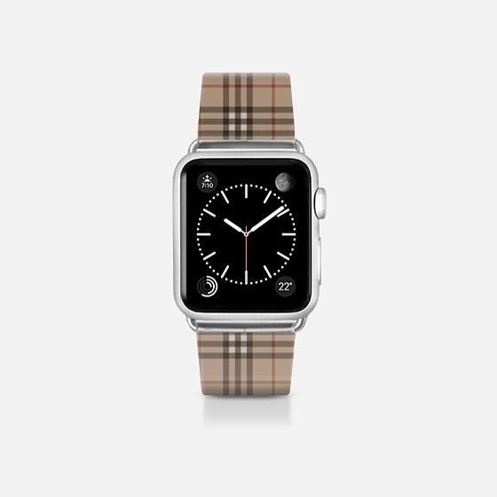Burberry like Casetify Band 38mm apple watch band